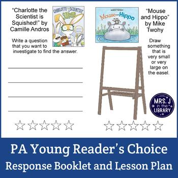 PA Young Reader's Choice Books Voting Unit (K-2)
