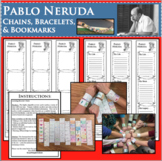 PABLO NERUDA Chains Bracelets Research Project Biography