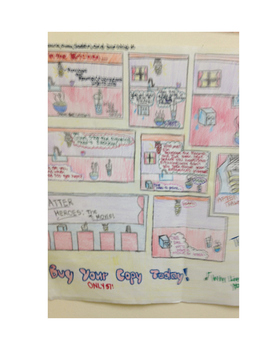 PACE Student Learning Teams- States of Matter Comic Strip Project