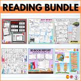 PACK - Actividades lectura/Book reports/ Bookflix/ Marcapáginas/ Posters. ENG-SP