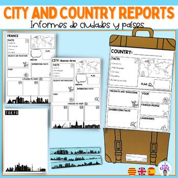 Travel around the world- PACK VIAJAMOS POR EL MUNDO- ESPAÑOL- ENGLISH- CAT- FRAN