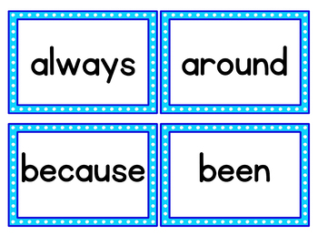 PACMAN Word Wall Bundle with Dolsch Sight Word Cards