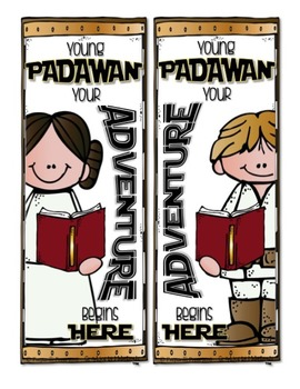 PADAWAN ADVENTURE Bookmarks {May the Fourth FREEBIE!}