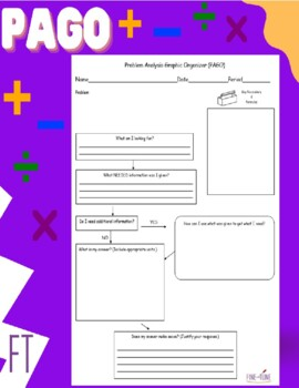 PAGO:The Problem Solving Way to Go!