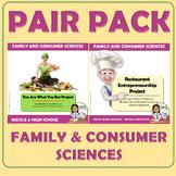 PAIR PACK Nutrition Projects: Restaurant Entrepreneurship