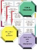 PAIR WORK - ROLE PLAY - BASIC INFO - EFL/ELL/ESL