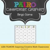 Coordinate Graphing: Plot Ordered Pairs Bingo Game