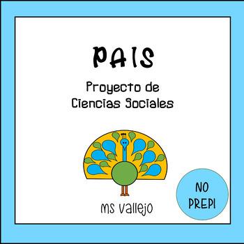 INVESTIGACIÓN de un PAÍS - PROYECTO DE CIENCIAS SOCIALES