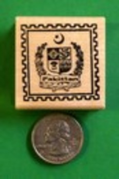 PAKISTAN Country/Passport Rubber Stamp