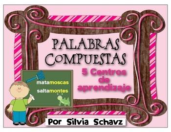 PALABRAS COMPUESTAS: 5 centros de aprendizaje