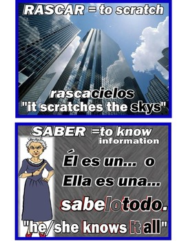 A~SPANISH~I~PALABRAS COMPUESTAS: Building Vocabulary with Compound Words