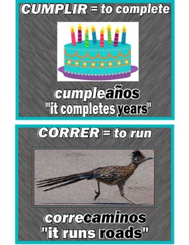 A~SPANISH~PALABRAS COMPUESTAS: Building Vocabulary with Co