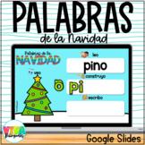PALABRAS DE LA NAVIDAD- CHRISTMAS WORDS- GOOGLE SLIDES