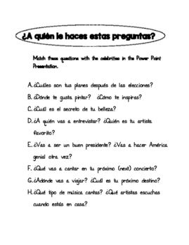 PALABRAS INTERROGATIVAS. QUESTION WORDS IN SPANISH. PREGUNTAS.