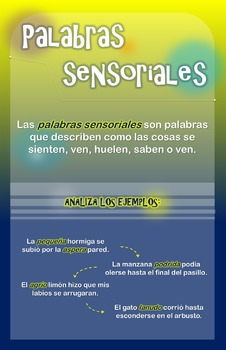 PALABRAS SENSORIALES
