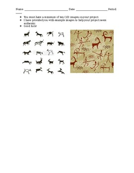 PALEOLITHIC CAVE ART PROJECT