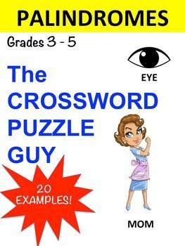PALINDROMES CROSSWORD PUZZLE