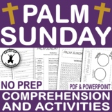{PALM SUNDAY} {EASTER BIBLE ACTIVITIES} {HOLY WEEK And EASTER}