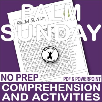 picture relating to Holy Week Activities Printable called PALM SUNDAY EASTER BIBLE Actions HOLY 7 days And EASTER