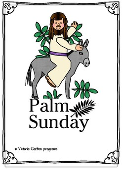 Palm Sunday Lesson Plan For Sunday School By Victoria Carlton Programs