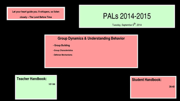 PALs PPT to Accompony Workbook Week Five
