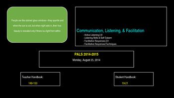 PALs PPT to Accompony Workbook Week Three