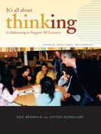 It's All About Thinking: Collaborating to Support all Learners (English, Social Studies, and Humanities)