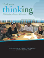 It's All About Thinking: Collaborating to Support all Learners (Math and Science)