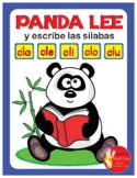 PANDA LEE Y ESCRIBE LAS SILABAS TRABADAS..... cla - cle -