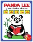 PANDA LEE Y ESCRIBE LAS SILABAS ..... da - de - di - do - du