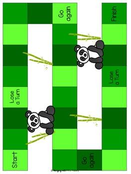 PANDA-MONIUM: 6 Math Games and Centers for 3rd Grade