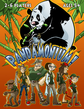 PANDA-MONIUM! (Animals Board Game)