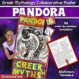 GREEK MYTHOLOGY ACTIVITY — Pandora Collaborative Poster and Writing Activity