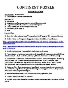 PANGEA (GRADES 4 - 8)