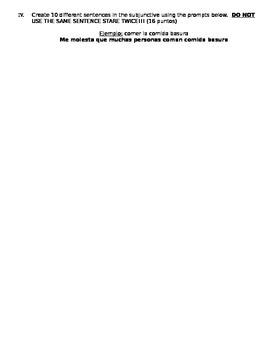 PAPEL DE ORO: EL SUBJUNCTIVO PRESENTE