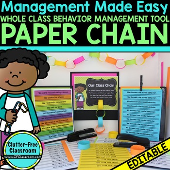 BEHAVIOR MANAGEMENT - Paper Chain Behavior Management Tool