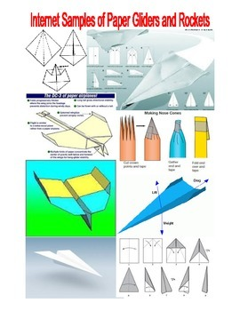 PHYSICS . . .  SALE  $8.50   ROCKET PLANE/GLIDER DESIGN CHALLENGE