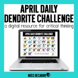 PAPERLESS April Daily Dendrite Challenge Distance Learning