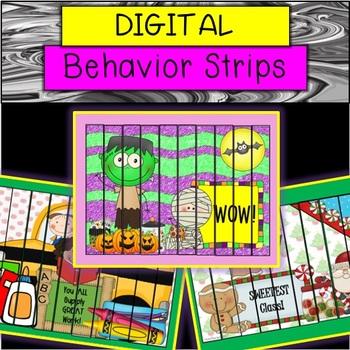PAPERLESS Behavior Strips (ENTIRE YEAR)