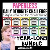 PAPERLESS Daily Dendrite Challenge GROWING BUNDLE