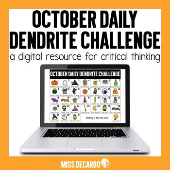 PAPERLESS October Daily Dendrite Challenge