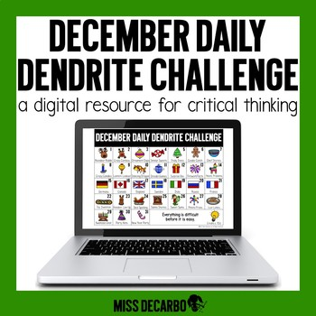 PAPERLESS December Daily Dendrite Challenge