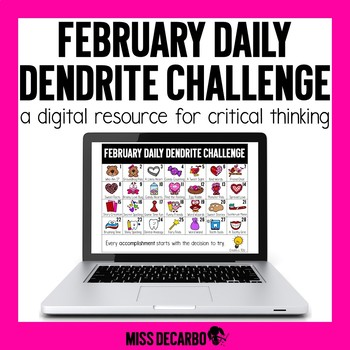 PAPERLESS February Daily Dendrite Challenge