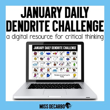 PAPERLESS January Daily Dendrite Challenge