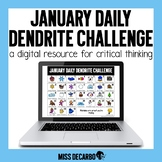PAPERLESS January Daily Dendrite Challenge