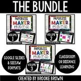 PAPERLESS Maker Math BUNDLE for Distance Learning (Google