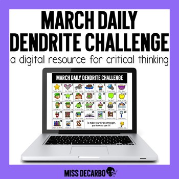 PAPERLESS March Daily Dendrite Challenge