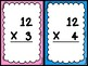 PAPERLESS Multiplication FACE OFF Facts Game