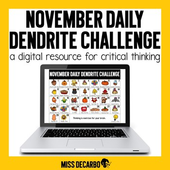 PAPERLESS November Daily Dendrite Challenge