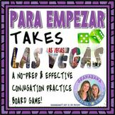 PARA EMPEZAR Takes LAS VEGAS * Speaking & Writing Practice Activity